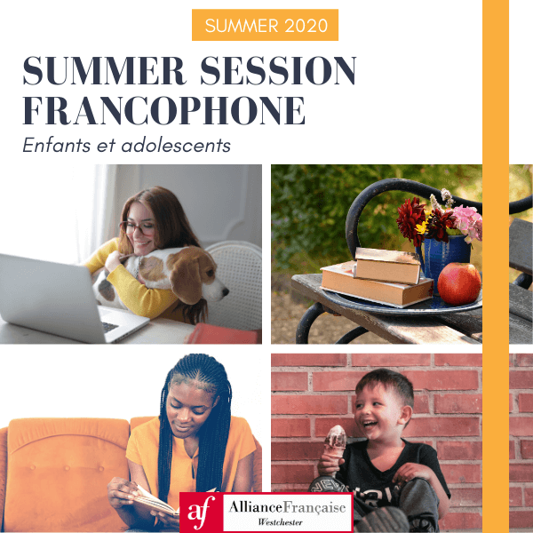 Summer 20 - Children - Summer session Francophones - Click to enlarge picture.