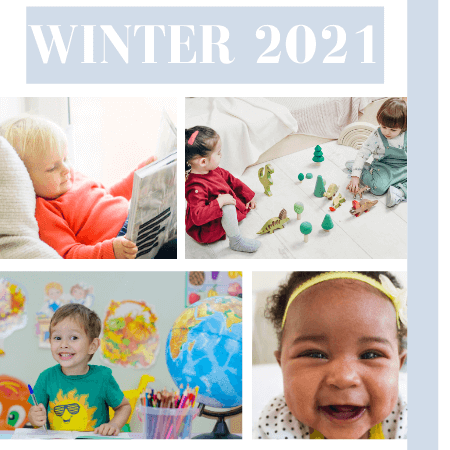 Winter 2021 - Toddlers Classes - Click to enlarge picture.